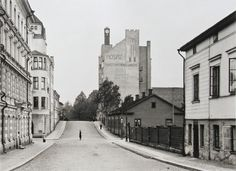 Helsinki  Yliopistonkatu  These buildings are no longer there