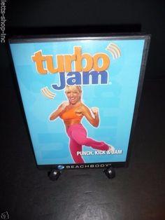 Beachbody Turbo Jam Punch, Kick & Jam (Dvd, 2007) Chalene Johnson  New Sealed