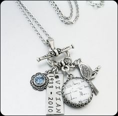 Signature Necklace Handwriting Jewelry Custom by BlackberryDesigns, $68.00