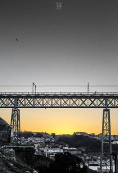 Tabuleiro superior da Ponte Luis I www.webook.pt #webookporto #porto #pontes