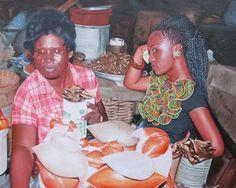 Jeremiah Quarshie Paints Realistic Portraits of Ghanaian Women. Black Fashion Designers, Hyper Realistic Paintings, Oceans Of The World, Human Condition, Black Models, Artist Art, Black Art, Contemporary Artists, Portrait