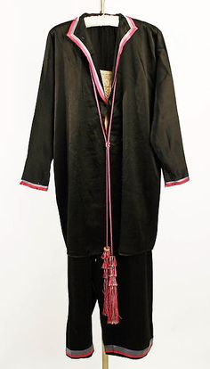Loungewear  Designer:Callot Soeurs (French, active 1895–1937) Date:1926–27 Culture:French Medium:silk