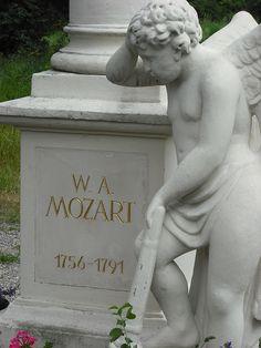 Mozart's grave, Vienna