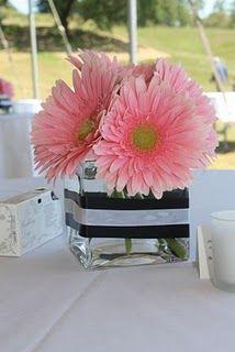 Gerbera Daisy Centerpieces « Weddingbee Boards