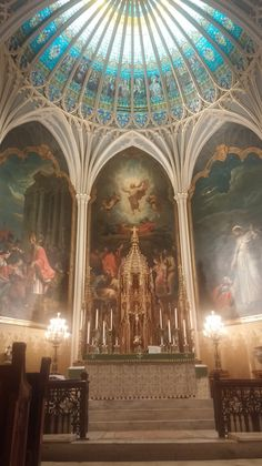 Today, I was very blessed to spend most of the day at a homeschooling mom reflection at this beautiful church downtown New Orleans, St. Patrick.   We started off with Cenacle of Our Loving M...