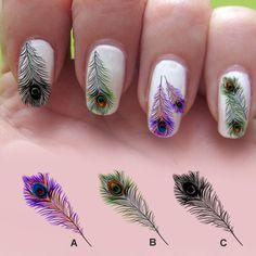 Cute-Feather-Nail-Art-Designs-Ideas32.jpg (1024×1024)