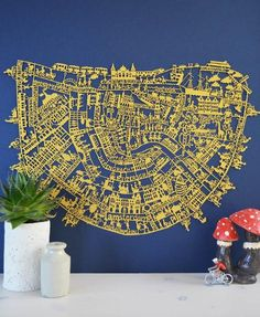 Famile Summerbelle Amsterdam paper cut GOLD SPECIAL EDITION!