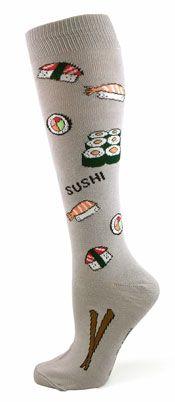 Sushi Knee High Socks