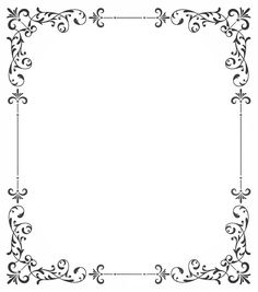 Frame Border Design, Boarder Designs, Page Borders Design, Borders For Paper, Borders And Frames, Wedding Frames, Wedding Cards, Festa Jack Daniels, Circus Theme Cakes