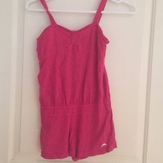 Pink Kids Romper. To small but it's still in great condition. Roots Kids Tops Tank Tops