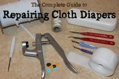 Pin this now to refer to later!  If you use cloth diapers, you'll be glad you know where to find this when your elastic wears out or your diapers need other repairs.  With links to repair businesses plus tips and tutorials for do-it-yourselfers, this is the ultimate guide to repairing cloth diapers.