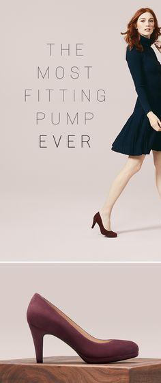 Think you know the pump? Rethink it. Meet the Michelle. It's supremely comfortable and so versatile. Add it to your closet and mix and match with your favorite looks all year round.  This must-have style is available in multiple colors, sizes and widths.