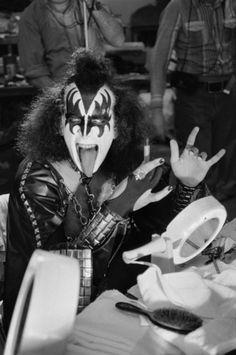 Gene Simmons backstage