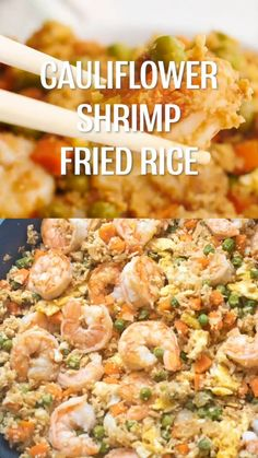 Clean Eating Recipes, Healthy Eating, Low Carb Recipes, Healthy Recipes, Shrimp Fried Rice, Low Carbohydrate Diet, White Onion, Rice Vinegar, Food Cravings