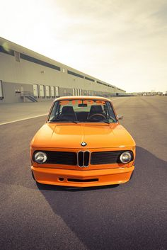 What is not to love, Orange and a 2002.  1973 BMW 2002