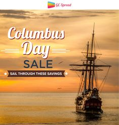 Discover New World of Saving! Columbus Day Weekend Sale: Save Up to On Target, Home Depot Gift Cards buygiftcards Columbus Day Weekend, Columbus Day Sale, Gift Card Deals, Best Gift Cards, Buy Discounted Gift Cards, Discount Gift Cards, Weekend Sale, Home Depot, Sailing
