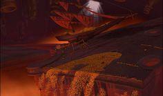 Flint´s airship in the Treasure Planet.