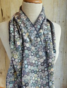 """Hexagones Lilliput"" scarf not really, but I can dream."