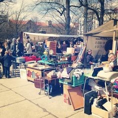 Proof that good things can come in small packages, this flea market is one of Berlin's best. Populated (product wise) with '50s and '60s design pieces, vintage knick-knacks and retro fashion pieces, it's the sort of place where you can find the new disks for your View-Master or some oversized neon strip lettering to give your bedroom that dirty urban look you always wanted.  It's also very much a case of the early bird gets the worm as the best items sell quickly and hardened hagglers are…