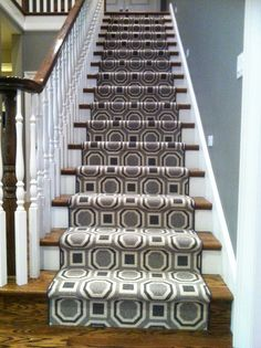Contemporary Home Stark Carpet Tacori Stair Runner Design Ideas, Pictures,  Remodel, And Decor   Stair Runners   Pinterest   Carpets, Runners And Home