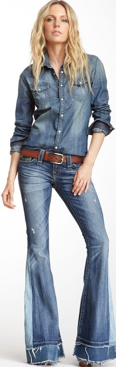 True Religion Denim style ♥✤ | Keep the Glamour | BeStayBeautiful❥✿ڿڰۣ(̆̃̃PM