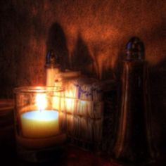 Salt & Pepper by candle light!