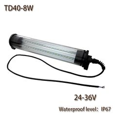 HNTD 8W AC 24V/36V Led Work Light Waterproof IP67 Explosion-proof TD40 LED Panel Light for CNC Machine Tools Free shipping
