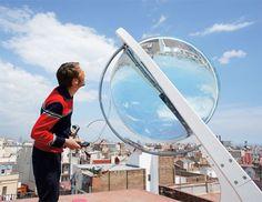 Spherical Lens Produces 4X More Energy Than Solar Panels