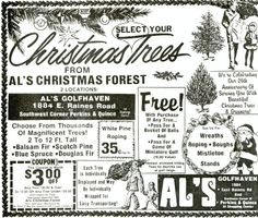 Remember Buying Your Christmas Trees at Al's Golfdom or Al's Golfhaven?