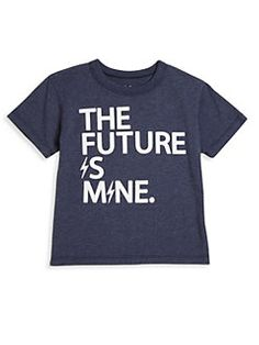 Chaser - Toddler's, Little Boy's & Boy's The Future Is Mine Jersey Tee