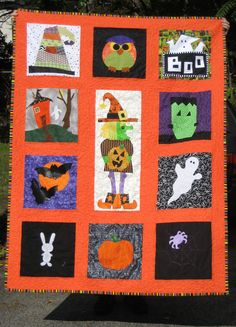 Spooktacular Swap Quilt | Flickr - Photo Sharing!