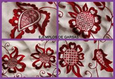 Embroidery Tutorial Majorcan Point