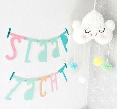 A Little Lovely Company Letter Banner Pastel 138 stuks (gratis verzending) - Ikbenzomooi.nl