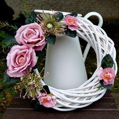 Summer Wreath, Grapevine Wreath, Grape Vines, Wreaths, Home Decor, Losing Weight, Decoration Home, Door Wreaths, Room Decor