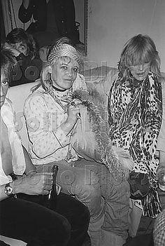 Pallenberg and Faithfull, Mudd Club Feb 10, 1980  Tannenbaum.