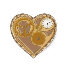 Spruce up any event with spectacular stickers Steampunk from Zazzle. Vintage Style, Vintage Fashion, Steampunk, Hearts, Romance, Victorian, Valentines, Stickers, Lace