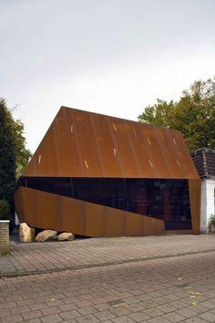 Steel Screen – Möhn+Bouman (Emmen, Paises Bajos) #architecture