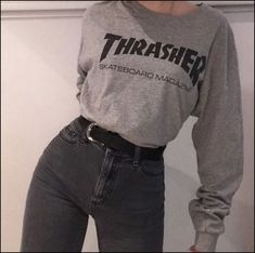 Nice outfit for RENT - Interessantes Outfit - - Outfits - Mode İdeen Skater Girl Outfits, Teen Fashion Outfits, Mode Outfits, Fall Outfits, Fashion Belts, Style Fashion, Womens Fashion, Fashion Pics, Vogue Fashion