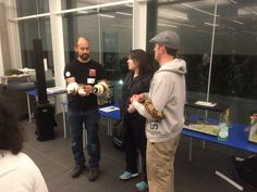 CalAcademy of Sciences hosted a killer party for Claude's 21st Bday! Peter & Pals were there to talk about reptiles & science!