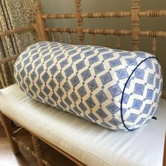 John Robshaw Bolster Pillow - Image 6 of 7