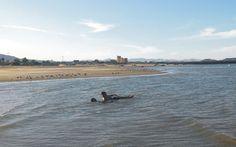 En las tranquilas aguas del Mar de Cortes. San Felipe, B.C.