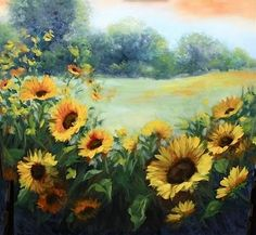 Wild Things - Sunflower Fields and Dallas Arboretum Blossoms -- Nancy Medina