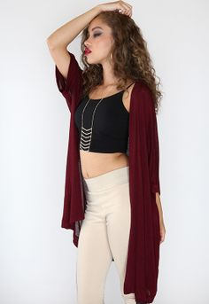 Remedy Knit Kimono - Burgundy, looking for the perfect snuggle cardigan, this is it! fun, fall fashion, pretty, priceless, affordable clothing, super cute