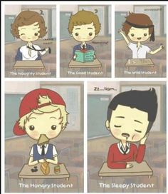 One Direction in school