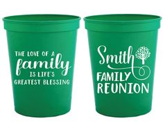 Family Reunion Cups Family Reunion Gifts Reunion Gifts Family Trip Cups Family Tree Personalized Wedding Cups 1538 by SipHipHooray Family Reunion Themes, Family Reunion Shirts, Family Reunions, Diy Wedding Gifts, Wedding Gifts For Guests, Wedding Favors, Diy Gifts, Wedding Reception, Party Favors