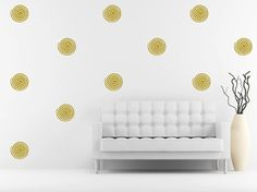 Give your walls a swirl with these spiral decals! We offer many sizes and custom sizes are also available on request. Monogram Wall Decals, Custom Wall Decals, The Rest Of Us, Swirl Pattern, Bedroom Wall, Spiral, Walls, This Or That Questions, Mini