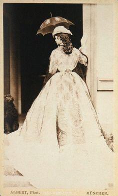 Empress Elisabeth in Bavaria, 1865