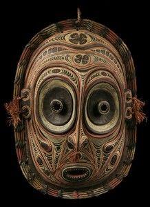 oceanic art images | Masque Iatmul Sepik Mask Tambanum Oceanic Tribal Art | eBay