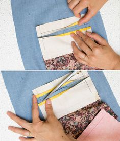 Tutorial: How to make single welt pockets - Workroom Social - Sewing Studio in Brooklyn, NY