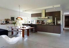 Single family house / Interior   Dark Arkitekter / Residential / Høvik, Norway Layout, Interior, Kitchen, Table, House, Furniture, Single Family, Norway, Home Decor